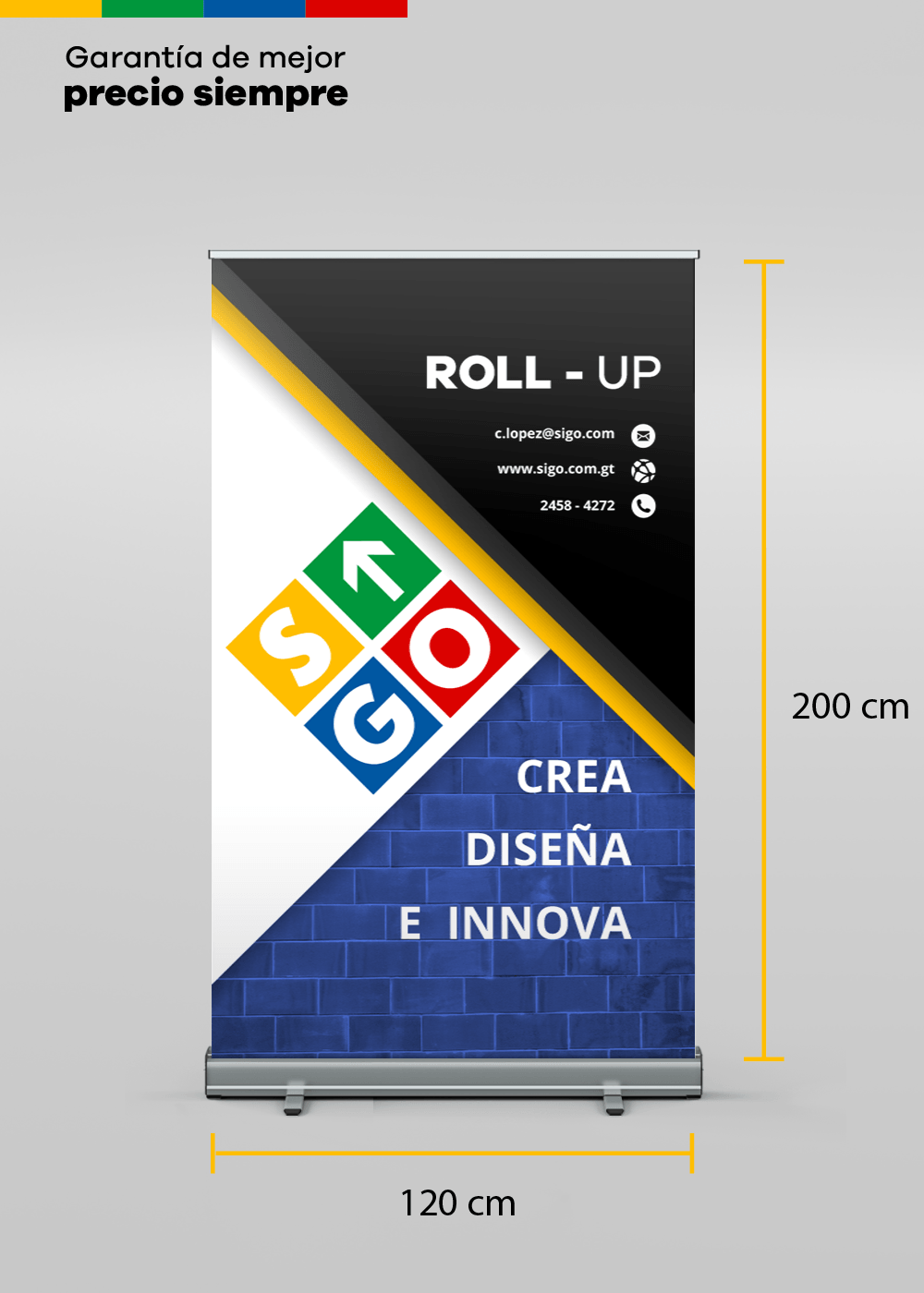 ROLL UP  - Display Publicitario (120x200)