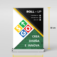 Mini ROLL UP  - (21x32)