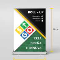 Mini ROLL UP  - (21x29)