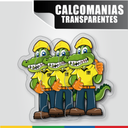 Calcomanías Transparentes