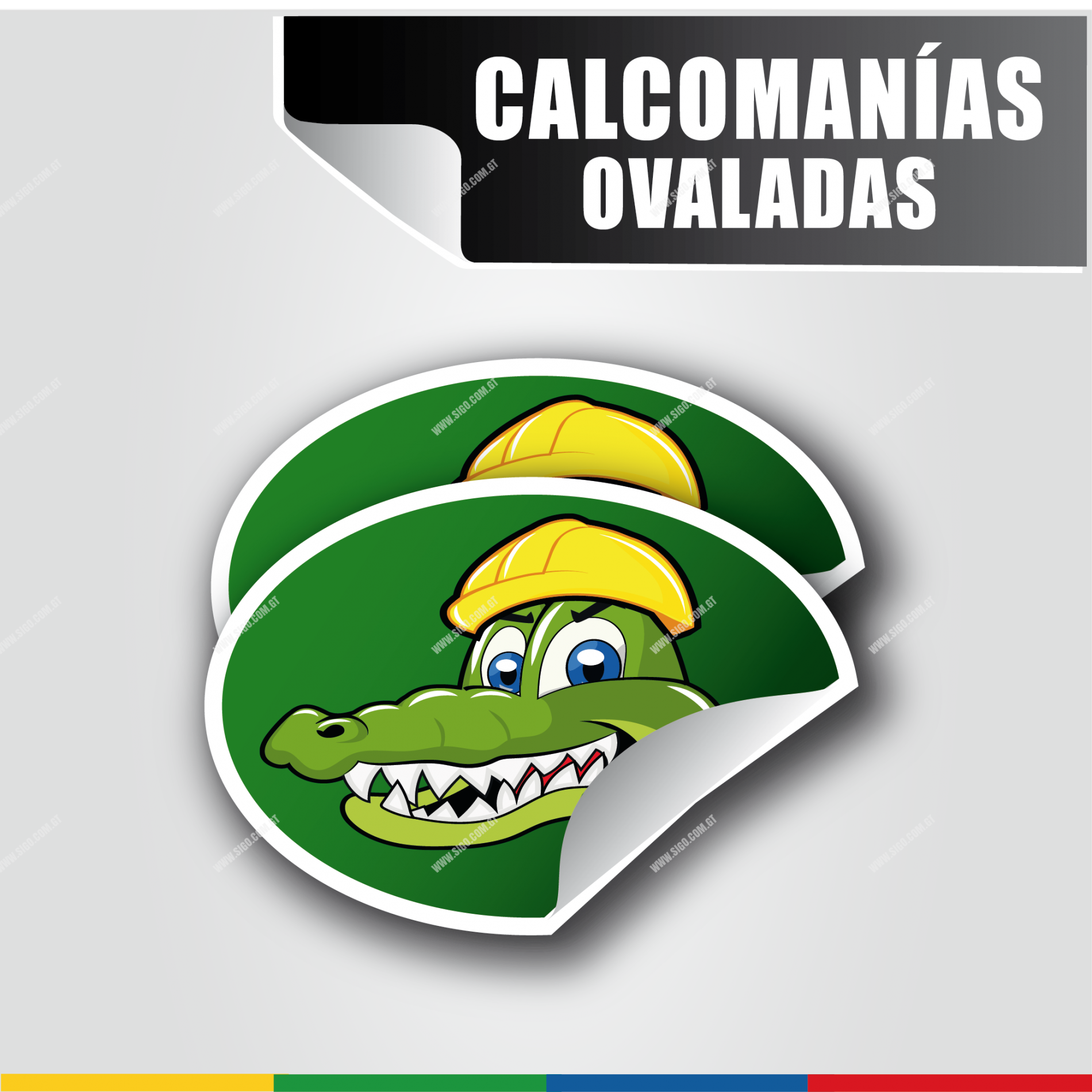 Calcomanias Ovaladas