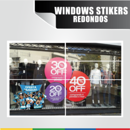 Windows Stickers Redondos