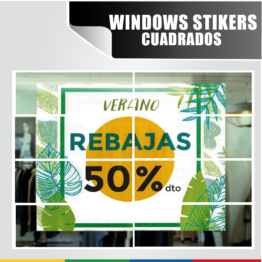 Windows Stickers Cuadrados