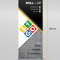 ROLL UP  - (80x200)