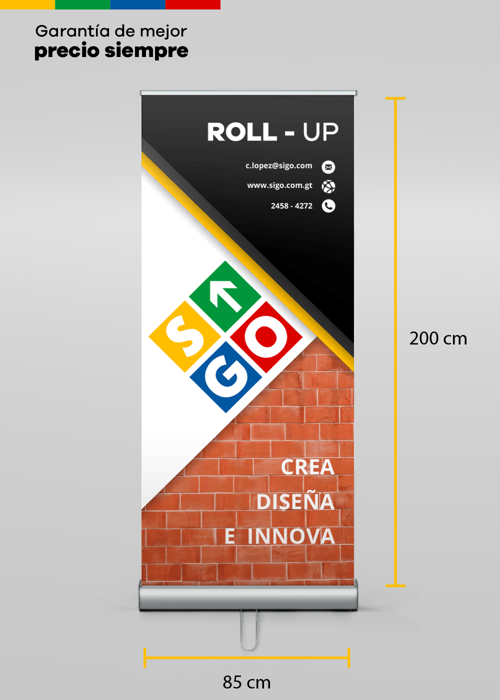 ROLL UP DOBLE CARA (85x200)